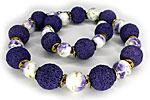 АРХИВ Бусы «Lilac» - N-387