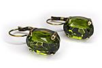 АРХИВ Серьги «Shape and Color» (зеленый) - V243