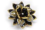 АРХИВ Брошь «Черный Цветок» - BR-001