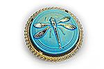 АРХИВ Брошь «Бирюзовая Стрекоза» - BR020