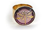 Кольцо «Весенняя Стрекоза» - V038