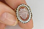 АРХИВ Кольцо «Цветок Ириса» - V209