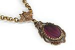 АРХИВ Чокер «Пурпурный Бархат» - V295