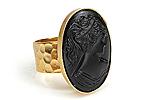 АРХИВ Кольцо «Черная Камея» - V358