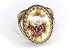 Кольцо «Прошлогодние Розы» - V437