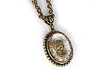 АРХИВ Кулон «Золотая Камея Intaglio» - V461