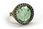 Кольцо «Мятная Роза» - V469