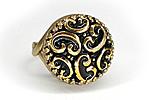 Кольцо «Золотая Парча» - V335