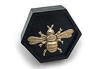 Кольцо «Каждой Пчеле - по Соте» - African Ebony - W042