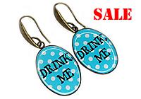 SALE Серьги «Drink Me» - С366