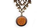 АРХИВ Кулон «W for Wonderland» - V339