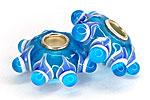 АРХИВ Набор Бусин - 3 штуки (Стекло Мурано) 399