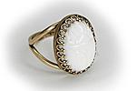ПОСЛЕДНЕЕ Кольцо «Белый Скарабей» - V237
