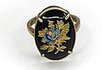 АРХИВ Кольцо «Цветок» - V261