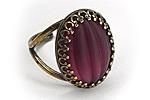 АРХИВ Кольцо «Пурпурный Бархат» - V294