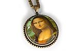 АРХИВ Кулон «Мона Лиза» - V412