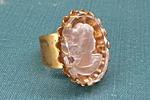 АРХИВ Кольцо «Камея Intaglio» - V504