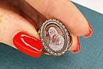 ПОСЛЕДНЕЕ Кольцо «Мона Лиза Intaglio» - V510