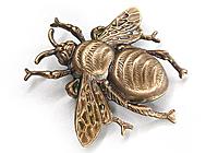АРХИВ Брошь «Шоколадная Пчела» - VG051