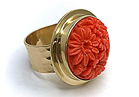 АРХИВ Кольцо «Японский Коралл» - Exclusive - 716