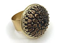 АРХИВ Кольцо «Медный Цветок» - V744