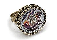 АРХИВ Кольцо «Снегирь» - V761