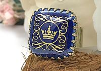 АРХИВ Кольцо «Датская Корона (винтажный фарфор)» - V868