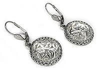 ПОСЛЕДНИЕ Серьги «Кельтское Серебро» - V472