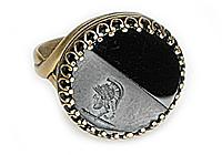 НА ЗАКАЗ Кольцо «Легионер (винтажное intaglio)» - V289