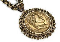 ПОСЛЕДНИЙ Кулон «Император Наполеон» - V426