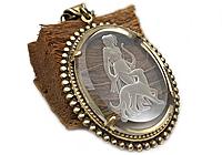 Кулон «Богиня Диана (винтажное intaglio)» - V904