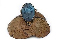 Кольцо «Центурион (винтажный кабошон)»V976