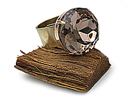 Кольцо «Светлый Аметист (винтажный дублет)» - V1011