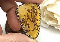 Брошь «Медовый Купидон» (коллекционное intaglio)V1068
