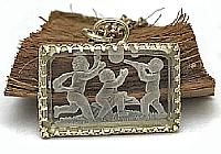 НА ЗАКАЗ Кулон «Детство» (коллекционное intaglio)-V1071